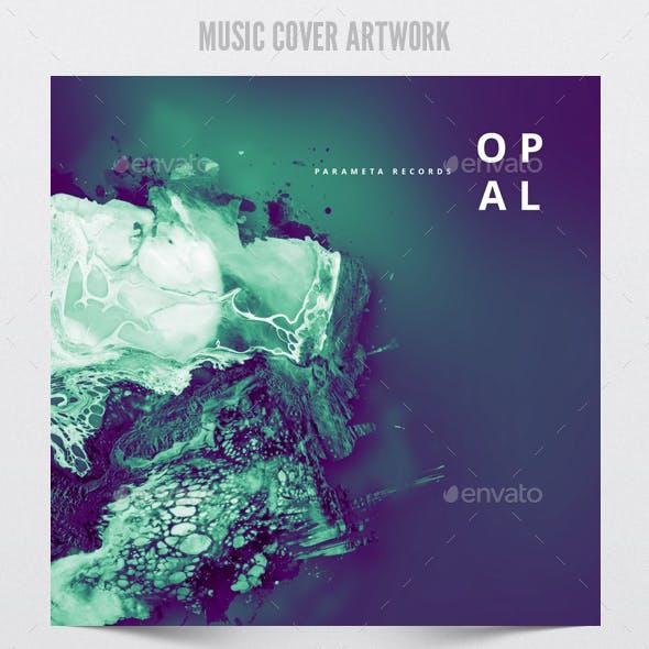 Opal - Music Album Cover Artwork Template