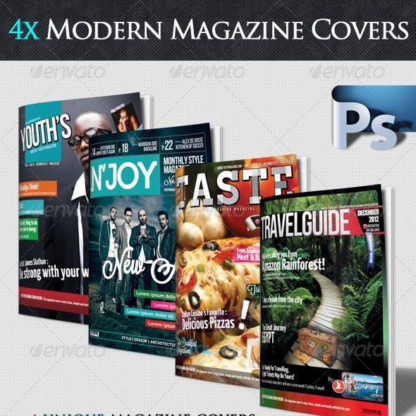 4x Magazine Cover Bundle Vol.1