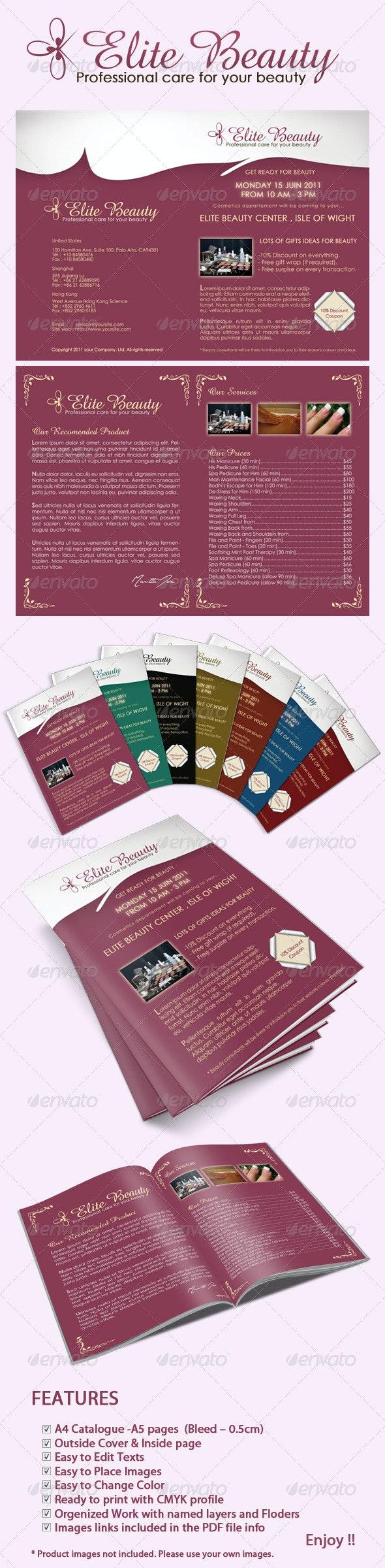 Elite Beauty catalog - Corporate Brochures