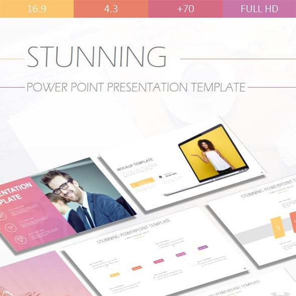 Stunning Powerpoint Presentation Template