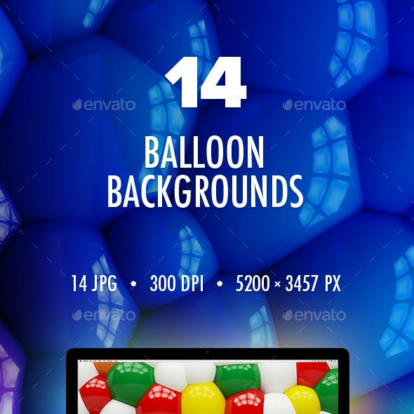14 Balloon Backgrounds