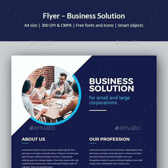 Flyer – Business Solution