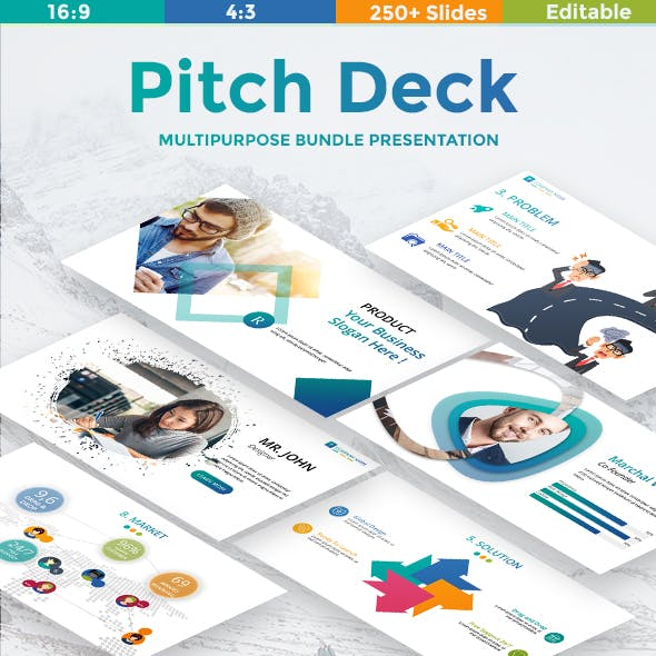 Pitch Deck Multipurpose Keynote Template