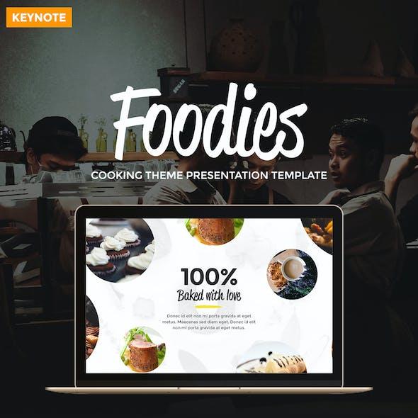 Foodies - Culinary Theme Keynote Template