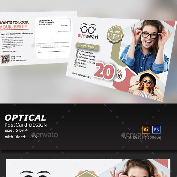 Optical Postcard