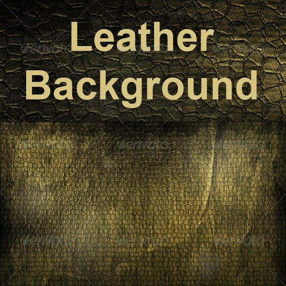 Grunge Leather Background
