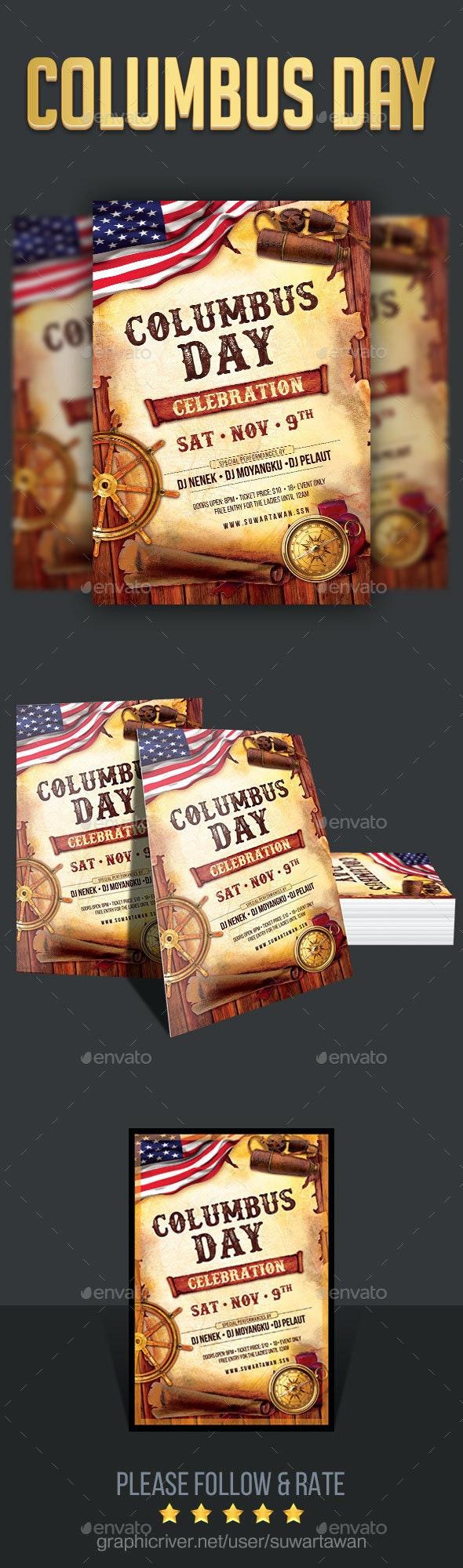 Columbus Day Celebration - Holidays Events