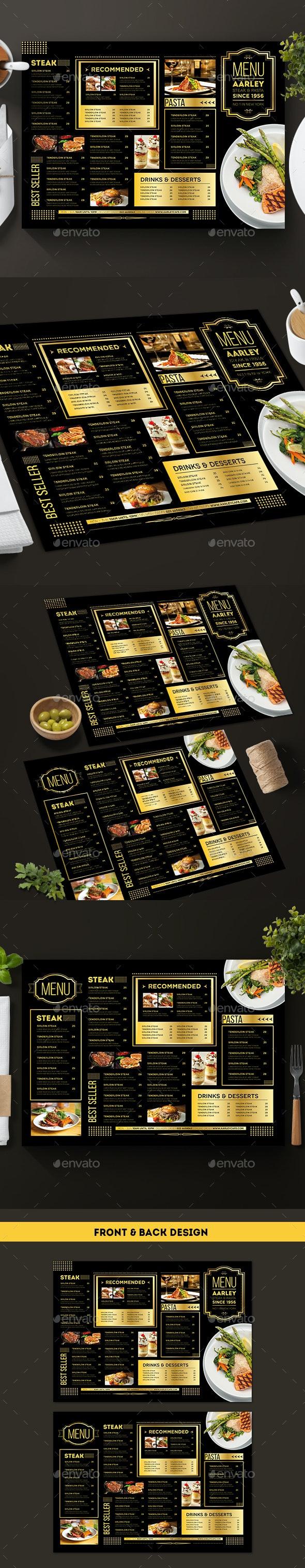 Elegant Menu - Food Menus Print Templates