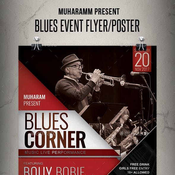 Blues Event Flyer / Poster