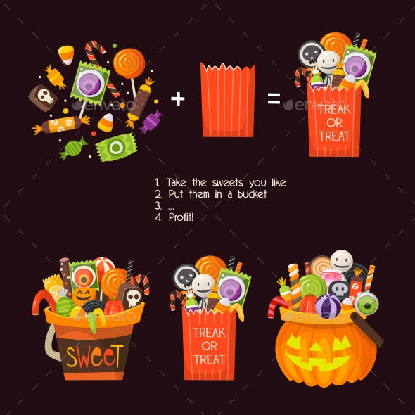 Loads of Sweets for Halloween