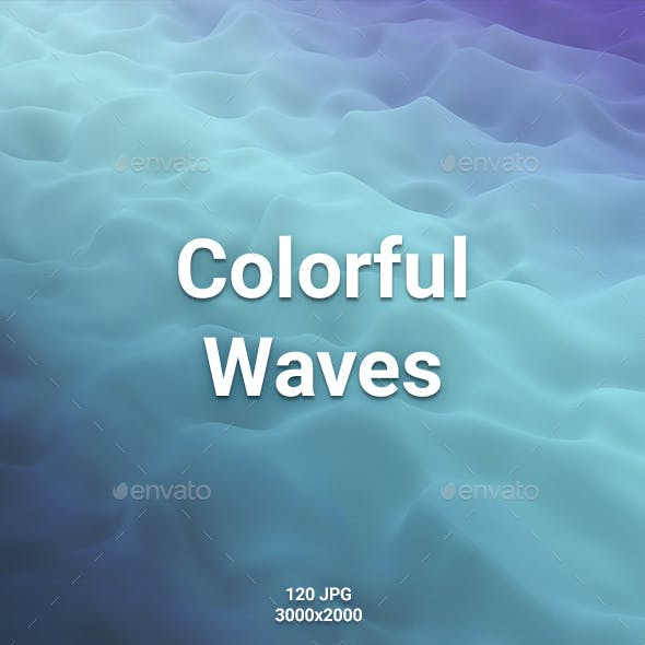 120 Colorful Waves Backgrounds