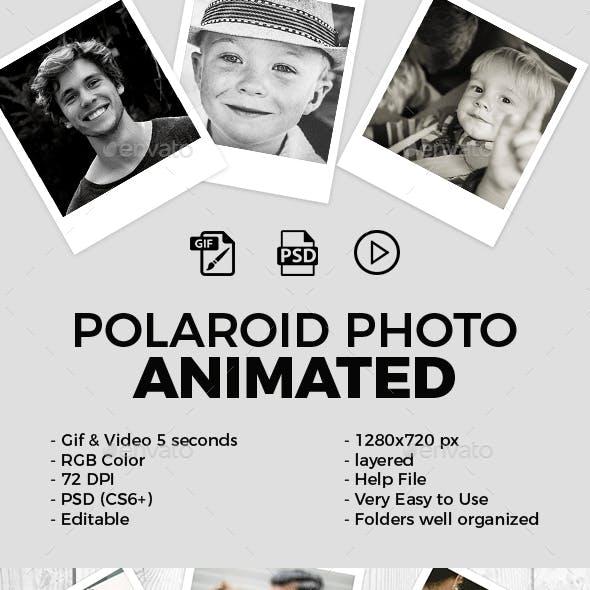 Polaroid Photo Animated