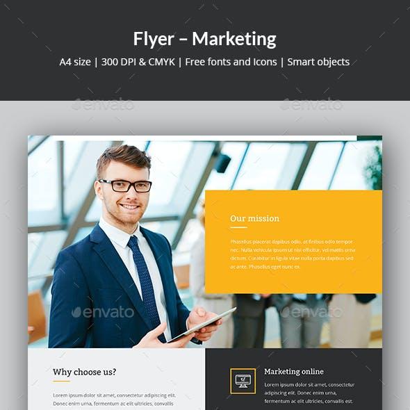Flyer – Marketing