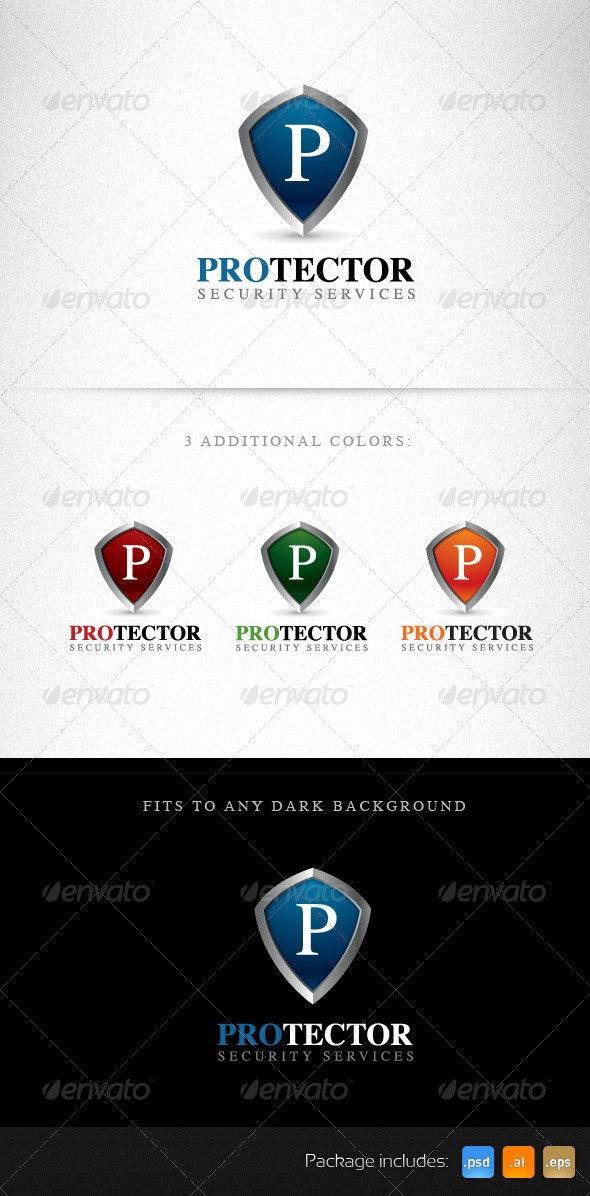 Protector Shield Creative Logo Template - Objects Logo Templates