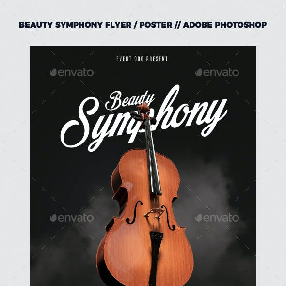 Symphony Music Flyer / Poster Template