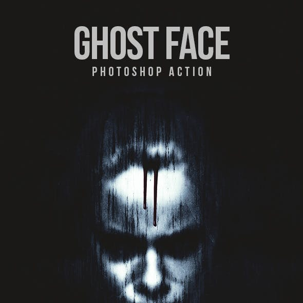 Ghost Face - Photoshop Action