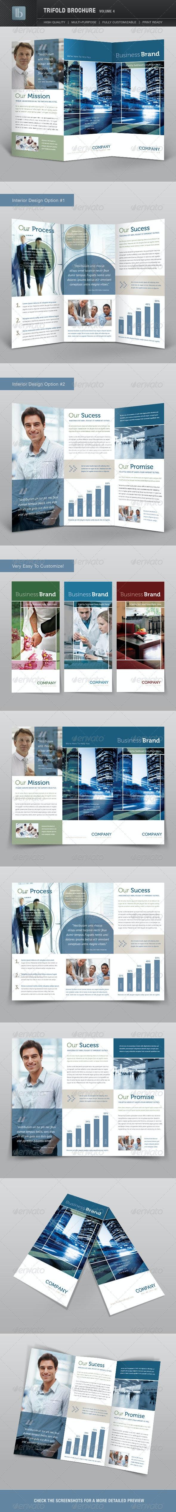 Trifold Brochure | Volume 4 - Corporate Brochures