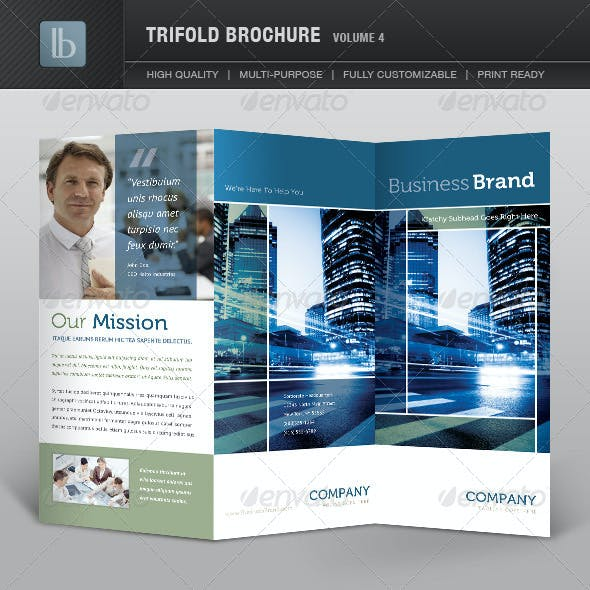 Trifold Brochure | Volume 4