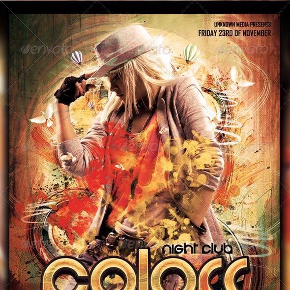Colors Flyer / Poster Design