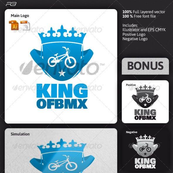King of Bmx Logo