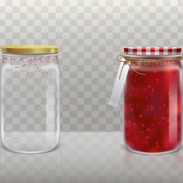 Set of Jars