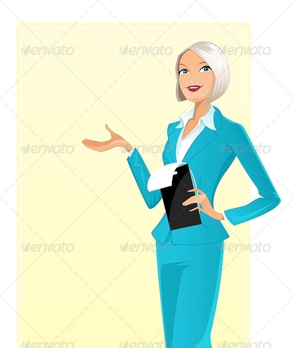 Businesswoman - People Characters
