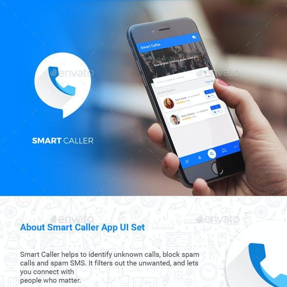 Caller ID & Chatting App like Truecaller    Smart Caller     UI Kit