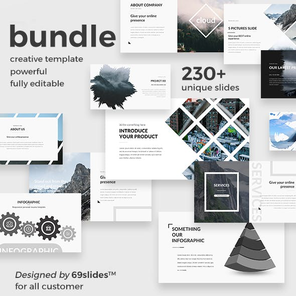 October Bundle - 3 in1 Creative Keynote Template