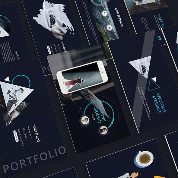 Divergen Creative Powerpoint Template