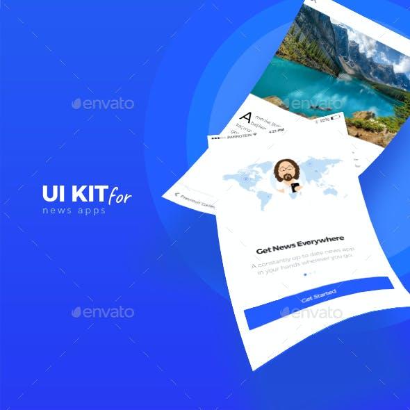 Orion News App UI Kit