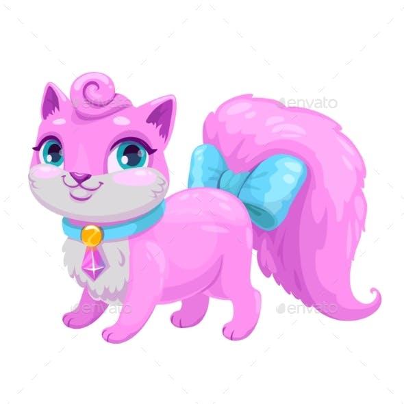 Cartoon Kitty Princess