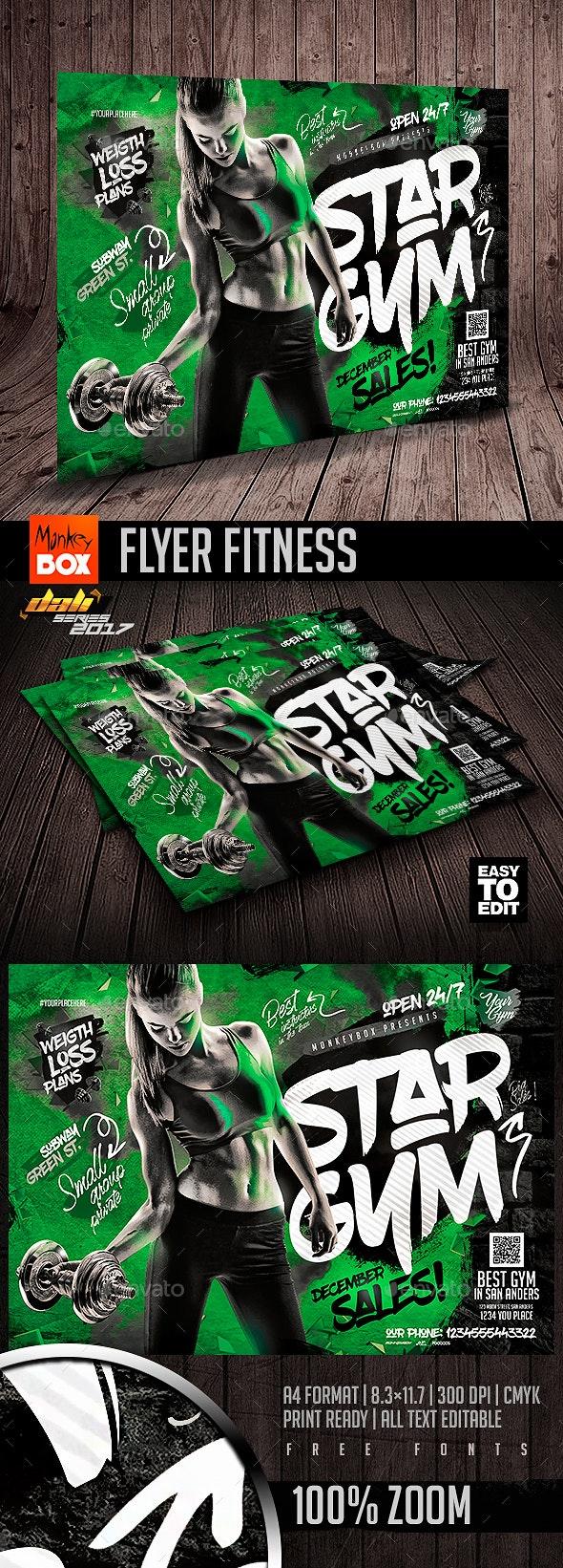Flyer Fitness - Flyers Print Templates