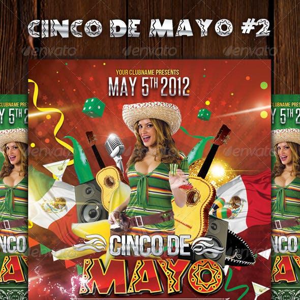 Cinco de Mayo Party #2 - Flyer Template