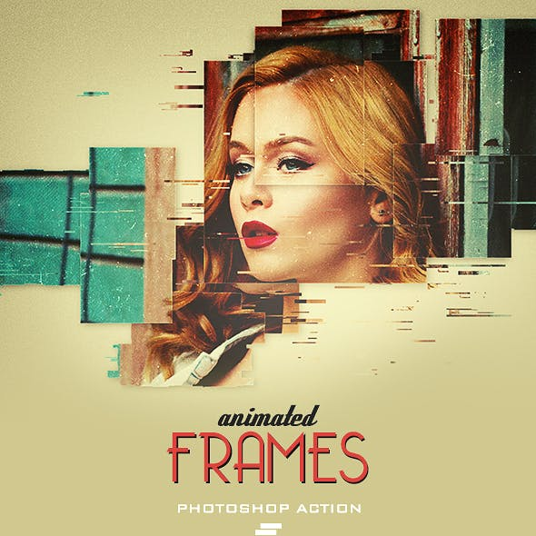 Gif Animated Frames Photoshop Action