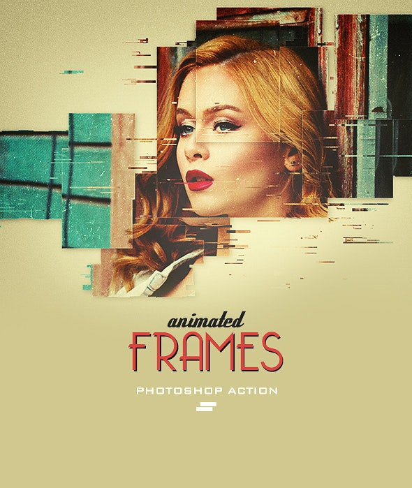 Gif Animated Frames Photoshop Action - Photo Effects Actions