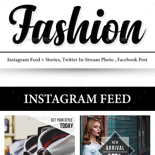 Fashion Social Media Banner Pack