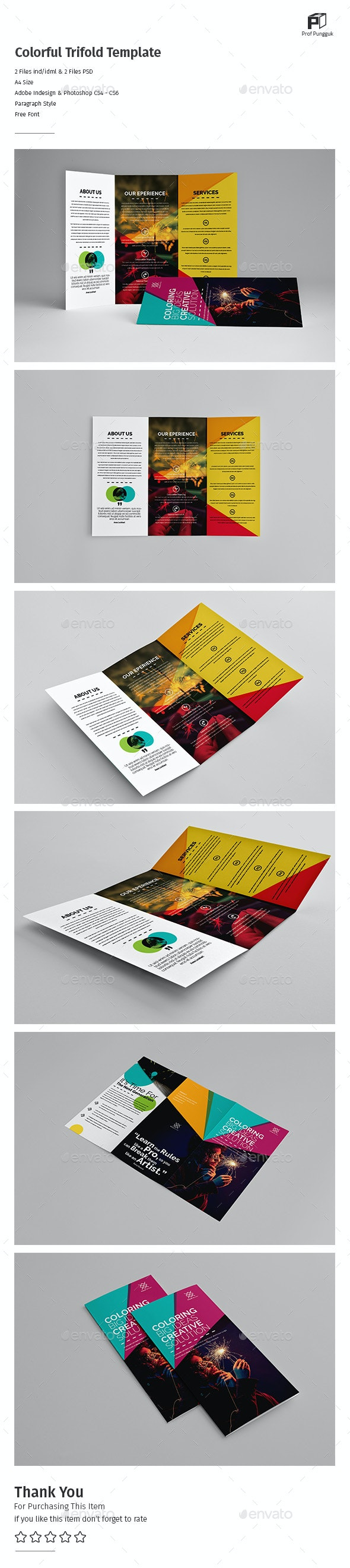 Colorful Trifold - Informational Brochures
