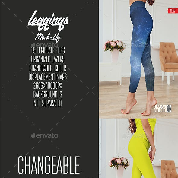 Leggings Mock-Up Vol.3 2017