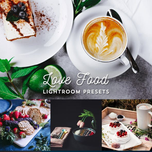 Love Food Lightroom 24 Presets