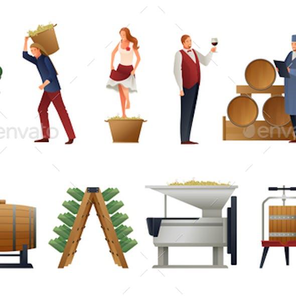 Wine Production Set