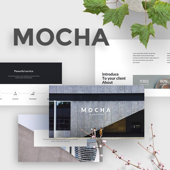 Mocha Creative Keynote Template