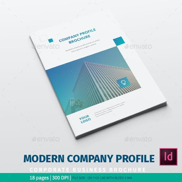 Creative Company Profile Graphics, Designs & Templates