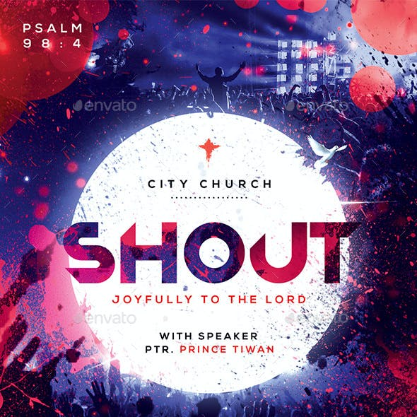 Shout Church Flyer