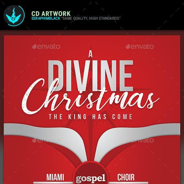 A Divine Christmas CD Template