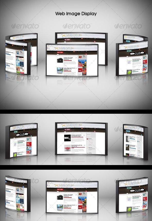 3d Web Image Displayer - Website Displays