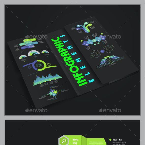Modern Infographic Element