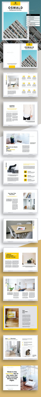 Oswald Multipurpose Brochure - Brochures Print Templates