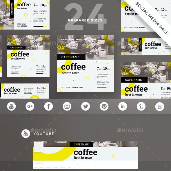 Coffee Shop Social Media Pack