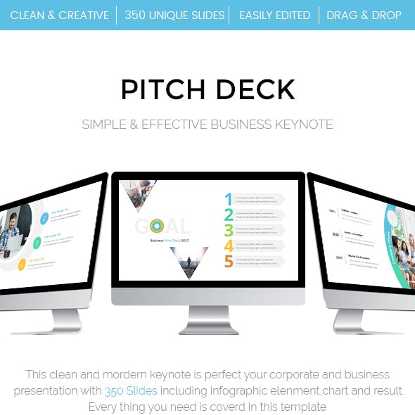 Business - Pitch Deck Keynote Template
