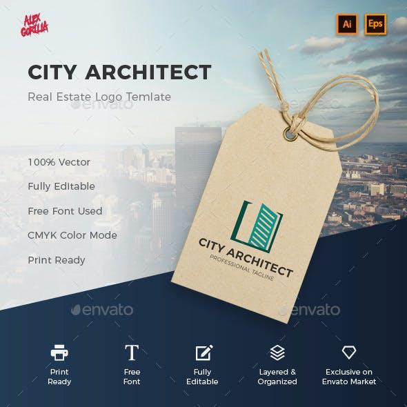 City Architect Logo Template
